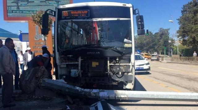 Erzurum'da Halk Otobüsü Terörü