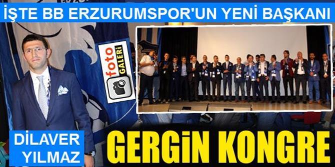 B.B. Erzurumspor'un yeni başkanı Yılmaz