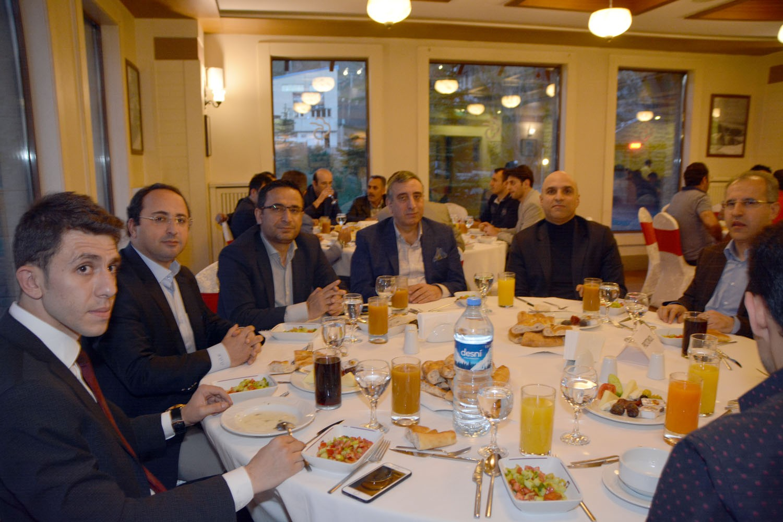 Erzurum Adalet Sen'den yüksek yargı üyelerine iftar yemeği