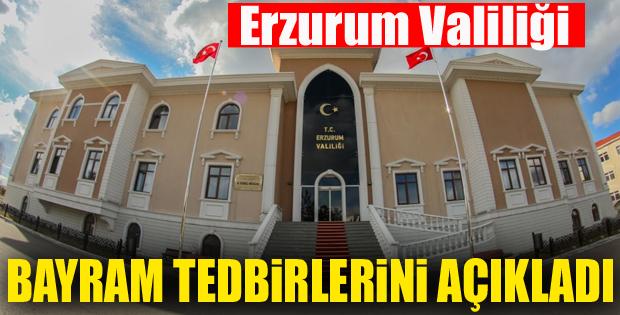 Vali Azizoğlu, Bayram için alınan önlemleri açıkladı
