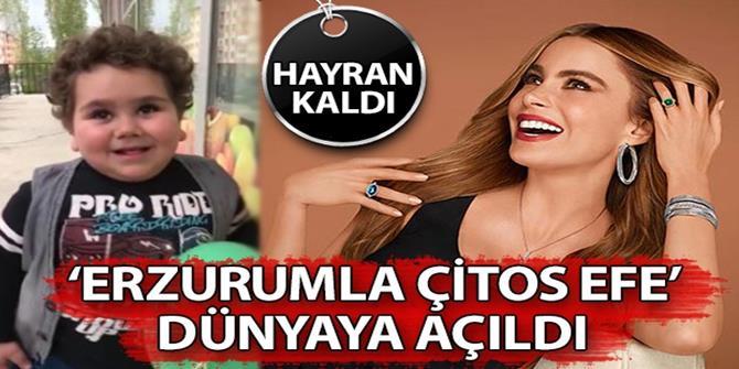 Sofia Vergara Erzurumlu Çitos Efe takipçisi çıktı!