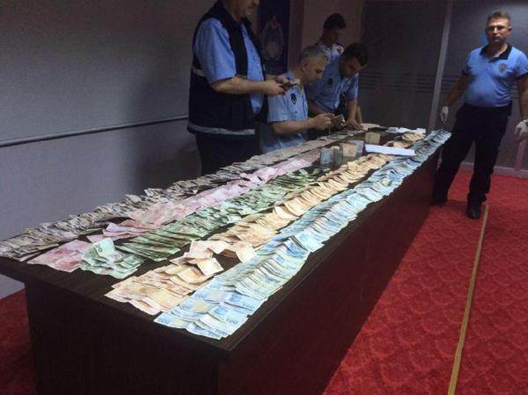 Dilencinin üstünden 71 bin 59 lira para çıktı