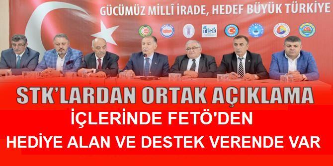 Erzurum'da o FETÖ destekçisiyle  STK'lardan ortak açıklama