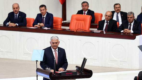 """Başbakan'dan Meclis'te Kılıçdaroğlu'na eleştiri: """"Onlar ancak..."""""""