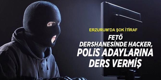 Erzurum'da Hacker itirafı!