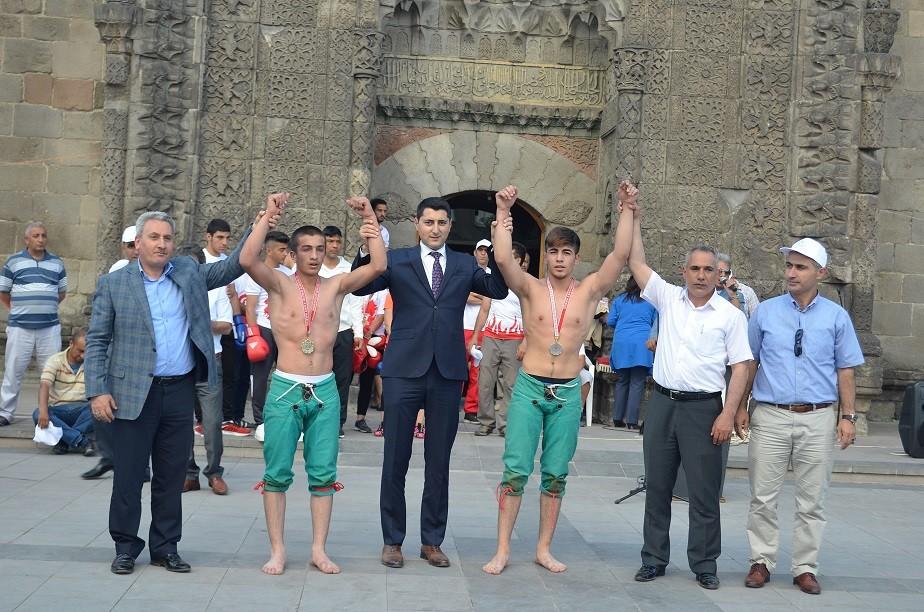 15 Temmuz spor gösterileri yapıldı