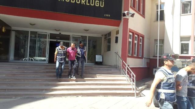 Erzurum'da o hırsızlar yakalandı