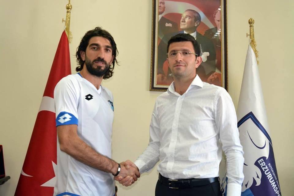 BB Erzurumspor Burhan Eşer'i transfer etti