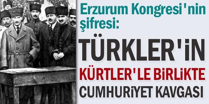 Türkler'in Kürtler'le birlikte cumhuriyet kavgası