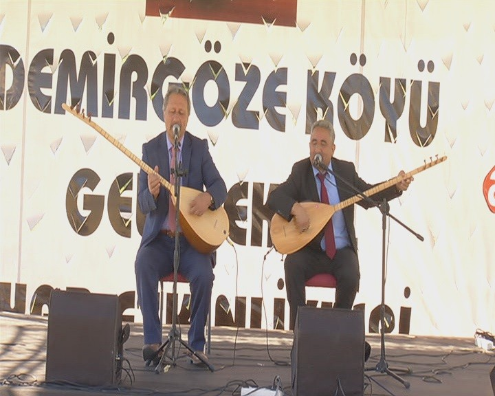 Demirgöze'de festival coşkusu