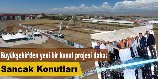 Büyükşehir'den yeni bir konut projesi daha: Sancak Konutları