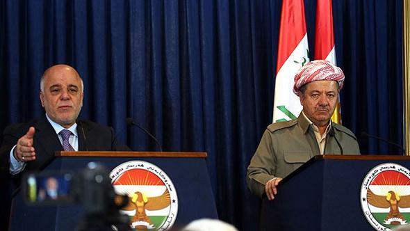 İbadi'den Barzani'ye sert çıkış