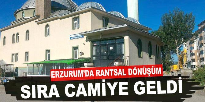 Erzurum'da cami yıkacaklar!