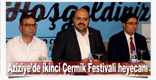 Aziziye'de ikinci Çermik Festivali heyecanı