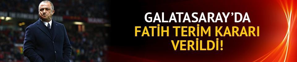 Galatasaray'da Fatih Terim bilmecesi