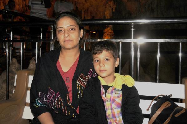 Astım Hastası Anne-oğul Ballıca Mağarası'nda Nefes Açıyor