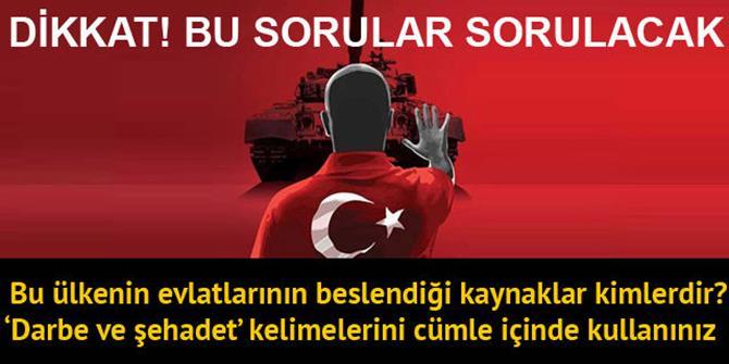 Yeni müfredatta 15 Temmuz ve Atatürk