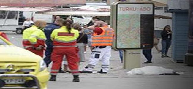 Finlandiya'da son dakika bıçaklı saldırı! Ölü ve yaralılar var