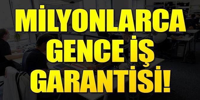 Hükümetten esnek çalışana iş garantisi