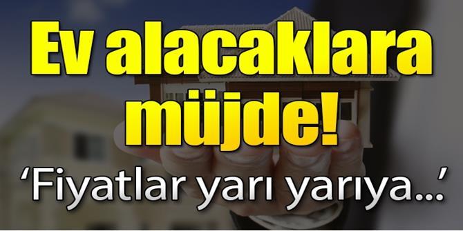 'Türkiye'de konut fiyatları yarı yarıya düşebilir'