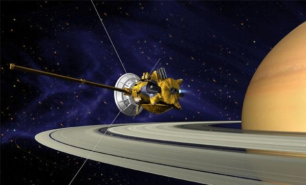 Cassini veda ediyor!