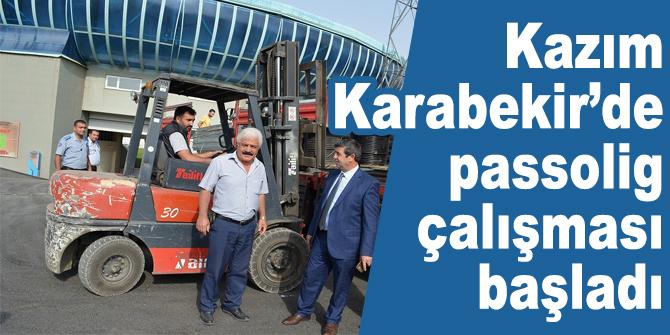 Kazım Karabekir'de passolig çalışması başladı