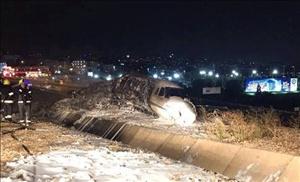 Özel jet Atatürk Havalimanı'nda düştü!