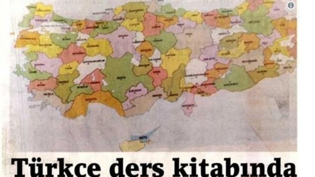 1. sınıf ders kitabında Ege adaları yok!