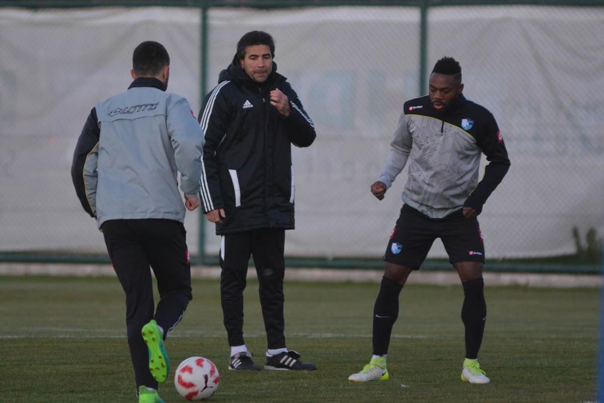 Mavi-Beyazlılar İstanbulspor maçı hazırlıklarını sürdürüyor
