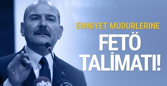 Bakan Soylu'dan KOM müdürlerine FETÖ talimatı