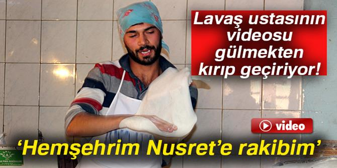 Fenomenliğe aday Erzurumlu lavaş ustasının videosu kırıp geçirdi