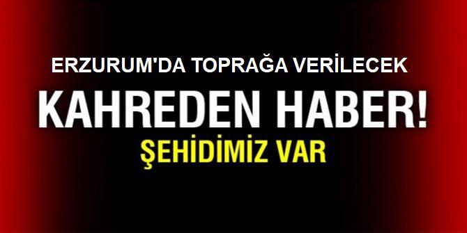 Erzurum ve Eskişehir şehitleri Adem Gezer ve Seçkin Arıkan için tören