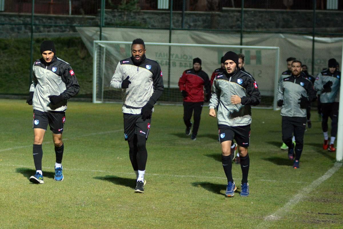 BB Erzurumspor, Eskişehirspor mesaisine başladı
