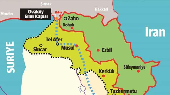 Türkiye Ovaköy Sınır Kapısı'nı hayata geçirecek