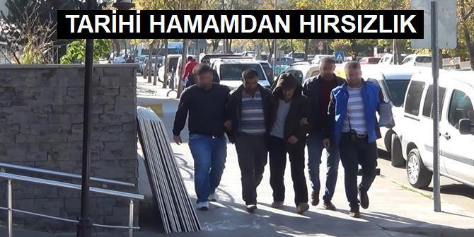 Erzurum'da  2 şüpheli adliyeye sevk edildi