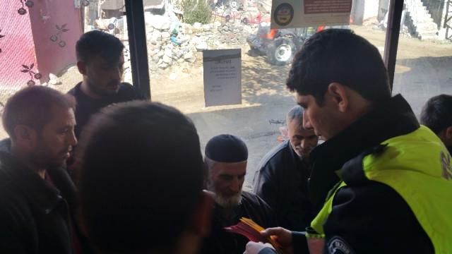 Erzurum'da Traktör Sürücülerini Bilgilendirme Semineri Düzenlendi