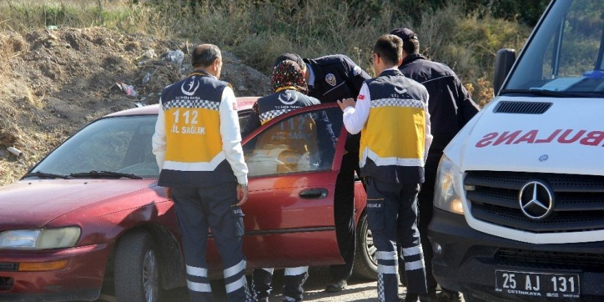 Para Nakil Aracı Kaza Yaptı: 2 Yaralı