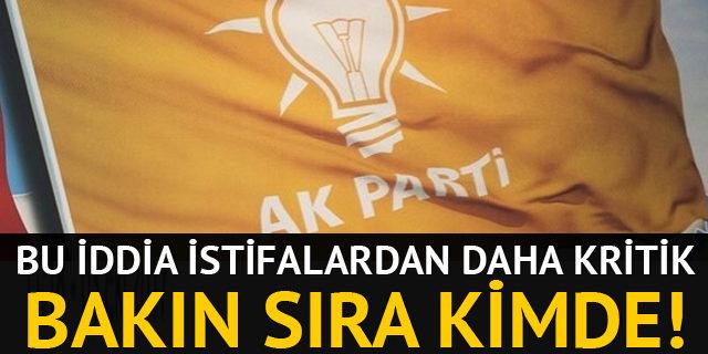 AK Parti için gündemi sarsacak iddia