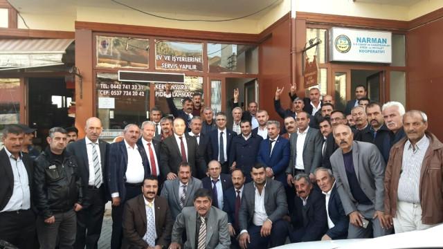 MHP Narman'da İstişare Toplantısı Yaptı