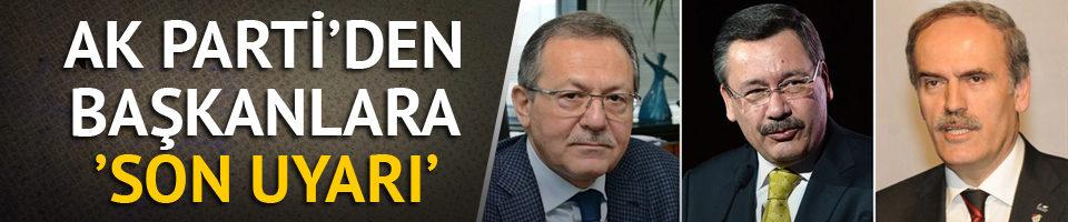 İstifası istenen belediye başkanları ile ilgili AK Parti'den yeni açıklama!