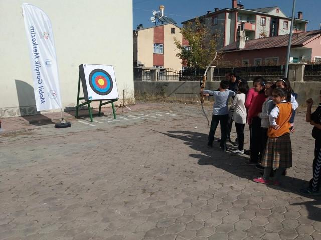 Mobil Gençlik Merkezim' İlçelere Taşındı