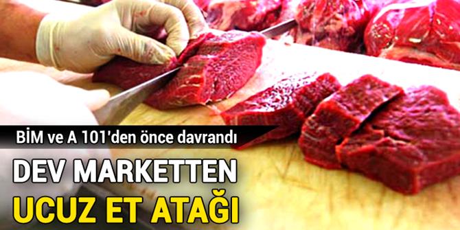 Migros, A101 ve BİM'den önce ucuz et satışına başlıyor