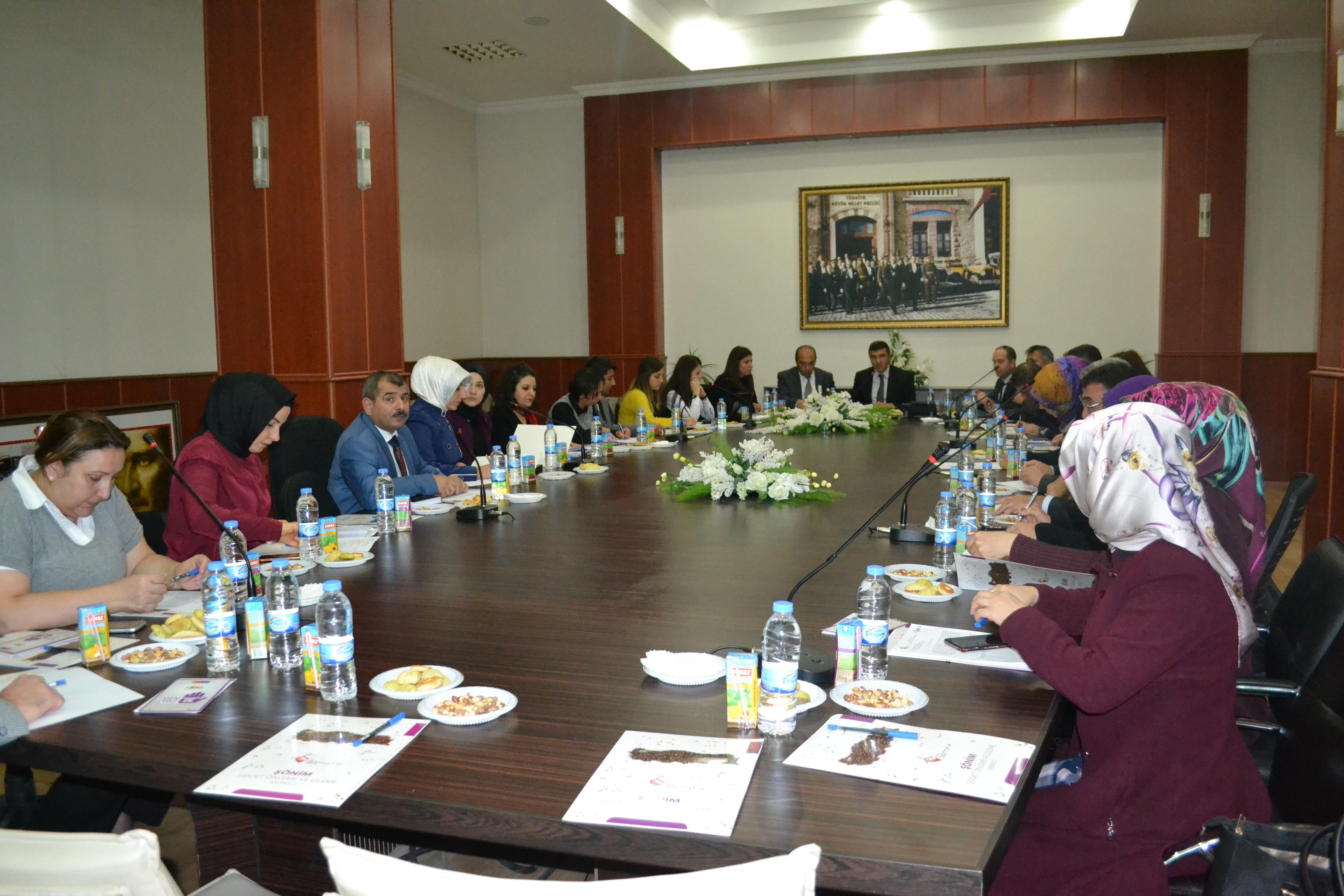Erzurum'da Kadına Yönelik Şiddetle Mücadele toplantısı düzenlendi