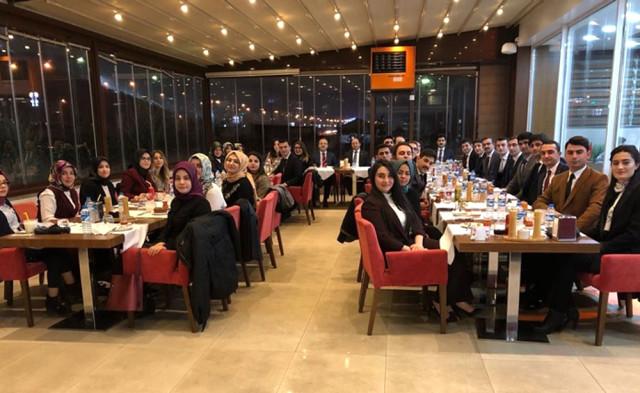 Hakim Savcı Adayları Tanışma Yemeğinde Bir Araya Geldi