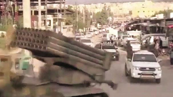 PKK Afrin'e silah ve eleman yığıyor!