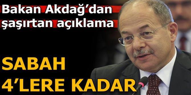 Bakan Akdağ:  Sabah 4'lere kadar o diziyi izledim...