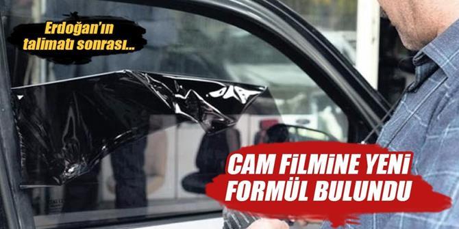 Sürücülere müjde! Cam film için 'hafif' formül