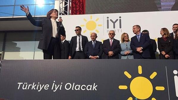 İYİ Parti'nin Genel Merkez binası Ankara'da açıldı