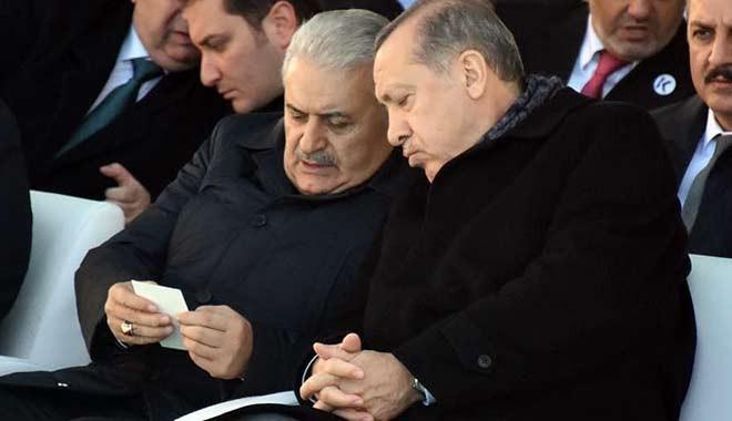 Erdoğan ve Yıldırım 'hukuku'nda çatlak