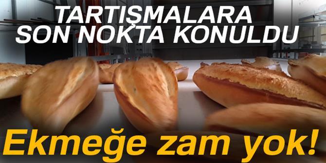 Balcı'dan ekmeğe zam açıklaması